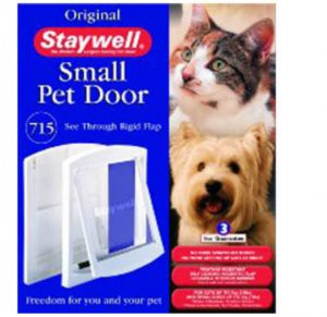 Staywell Cat Door and Lock 715 White