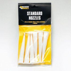 Everbuild Standard Sealant Nozzles x6