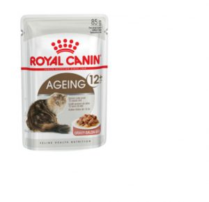 Royal Canin Ageing 12+ (in gravy) Wet Cat Food Pouch 85g