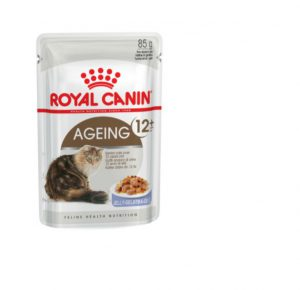 Royal Canin Ageing 12+ (in jelly) Wet Cat Food Pouch 85g