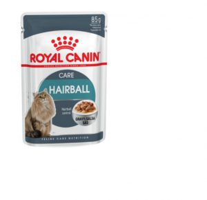 Royal Canin Hairball Care (in gravy) Wet Cat Food Pouch 85g