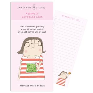 Rosie Magnetic Shopping List Soggy Salad