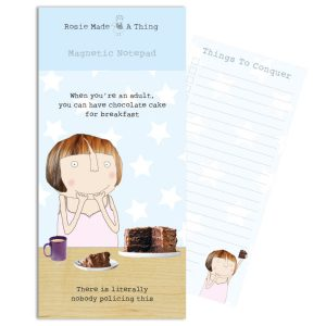 Rosie Magnetic Shopping List Breakfast Cake