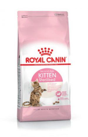 Royal Canin Kitten Sterilised Dry Cat Food 400g