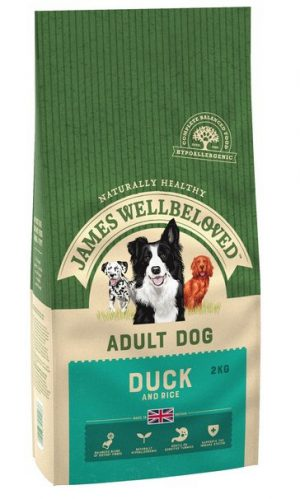 James Wellbeloved Duck and Rice Adult 2kg