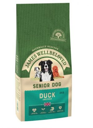 James Wellbeloved Duck and Rice Senior 2kg