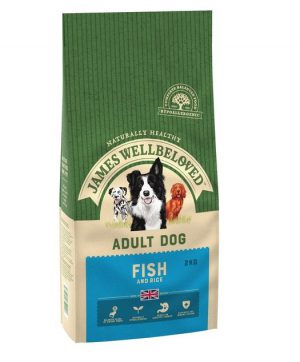James Wellbeloved Ocean White Fish and Rice Adult 2kg