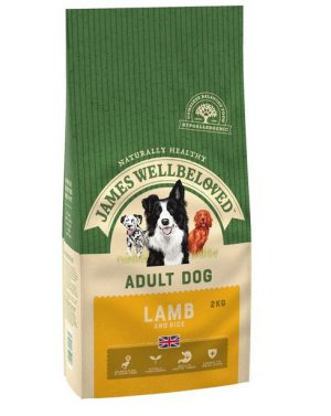 James Wellbeloved Lamb and Rice Adult 2kg