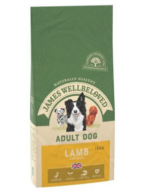 James Wellbeloved Lamb and Rice Adult 15kg