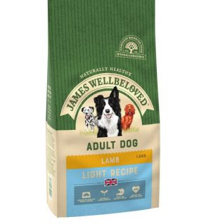 James Wellbeloved Lamb and Rice Light Adult 1.5kg