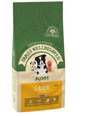 James Wellbeloved Lamb and Rice Puppy 2kg