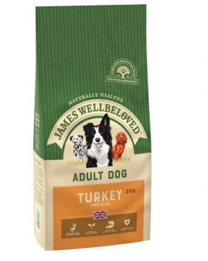 James Wellbeloved Turkey and Rice Adult 2kg
