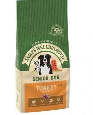 James Wellbeloved Turkey and Rice Senior 2kg