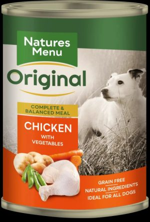 Natures Menu Chicken Can For Adult Dogs 400g