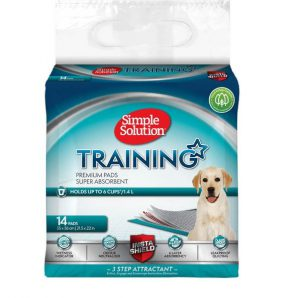 Simple Solution Puppy Training Pads (14Pk)