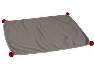 Zoon Grey Plaid Comforter