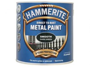 Hammerite Direct To Metal Smooth Dark Green 250ml