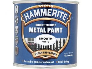 Hammerite Direct To Metal Smooth White 250ml