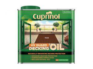 Cuprinol UV Guard Decking Oil Teak 2.5 litre