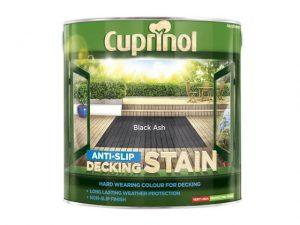 Cuprinol Anti-Slip Decking Stain Black Ash 2.5 litre