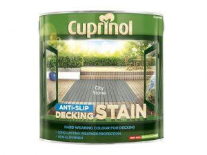 Cuprinol Anti-Slip Decking Stain City Stone 2.5 litre