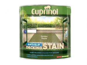 Cuprinol Anti-Slip Decking Stain Golden Maple 2.5 litre