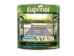 Cuprinol Anti-Slip Decking Stain Silver Birch 2.5 litre