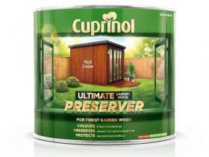 Cuprinol Ultimate Preserver Red Cedar 1L
