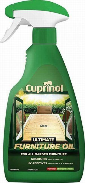 Cuprinol Ultimate Furniture Oil (Wb) Clear 500ml