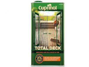 Cuprinol Total Deck Restore & Oil Wood Clear 5 litre