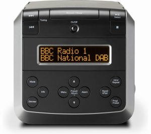 ROBERTS SOUND48 CD CLOCK RADIO BLACK