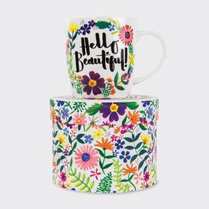 Rachel Ellen China Mug – Hello Beautiful