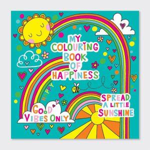 Rachel Ellen Colouring Book- Happiness