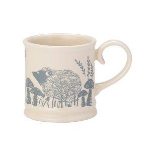 Artisan Grey Hedgehog Small Tankard Mug