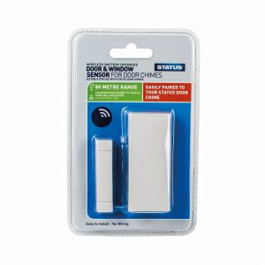 Status Door & Window Sensor  Door Chime Compatable cable free