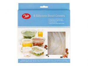 Tala Siliicone Bowl Cover Set- 6 Piece