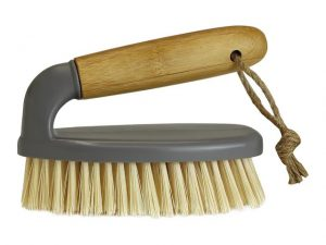 JVL Scrubbing Brush + Handle Bamboo