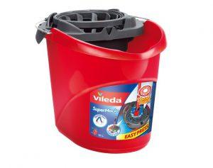 Vileda SuperMocio Bucket and Torsion Wringer