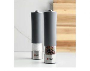 Haden Electric Salt & Pepper Mill Slate Grey