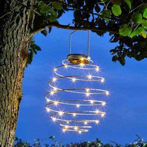SmartGarden Spiralight Solar Lantern