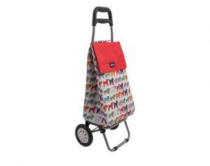 Sabichi Shopping Trolley Pug 2 Wheel