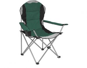 Redwood Padded Camping Chair Green