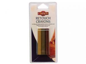 Liberon Retouch Crayon Assorted x 3