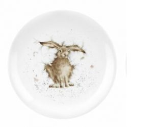 Wrendale Designs 8 Inch Coupe Plate- Hare