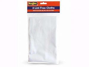 Rustins Lint Free Cloth x 3