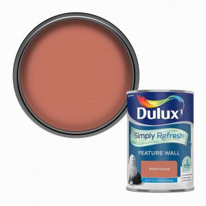 Dulux Simply Refresh Feature Wall- Blood Orange 1.25L