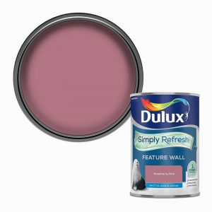 Dulux Simply Refresh Feature Wall- Raspberry Diva 1.25L