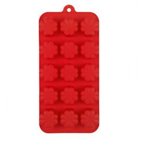 Flower Chocolate Mould, Red