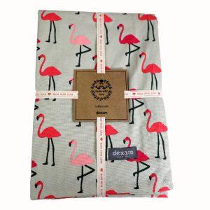 Flamingo Tablecloth 135 x 180cms