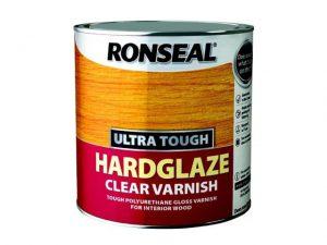 Ronseal Hardglaze Interior Clear Gloss Varnish 750ml